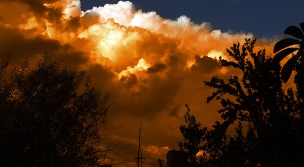 Atardecer con nubes  1 - 4