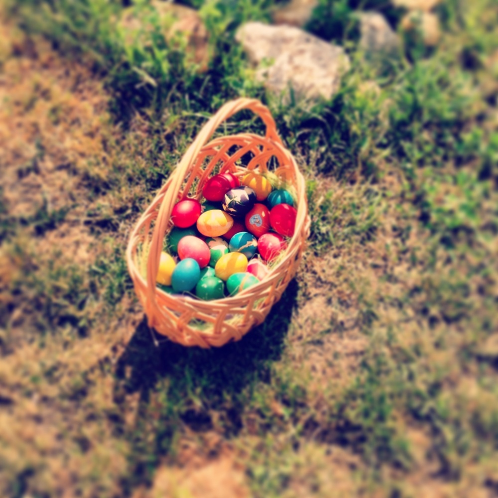 Our eggs are ready for The Easter Parade! :)