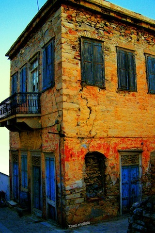 Colored House Grece