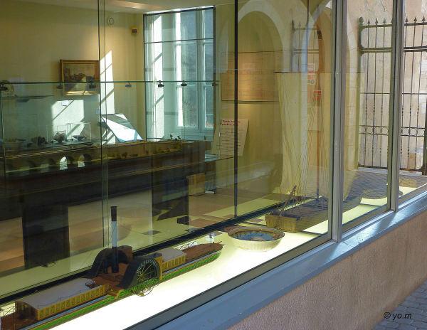 La vitrine du musée
