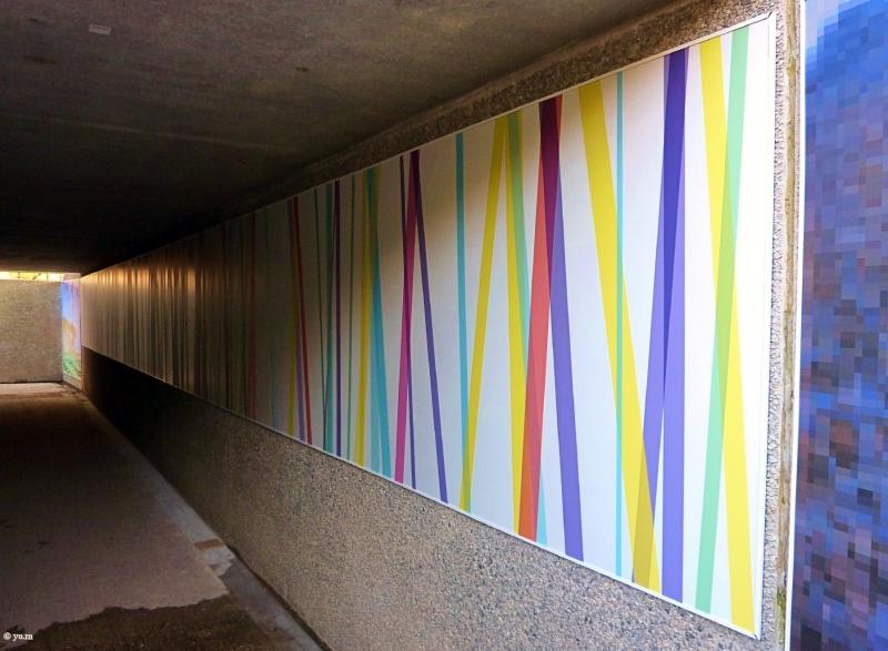 Le passage souterrain