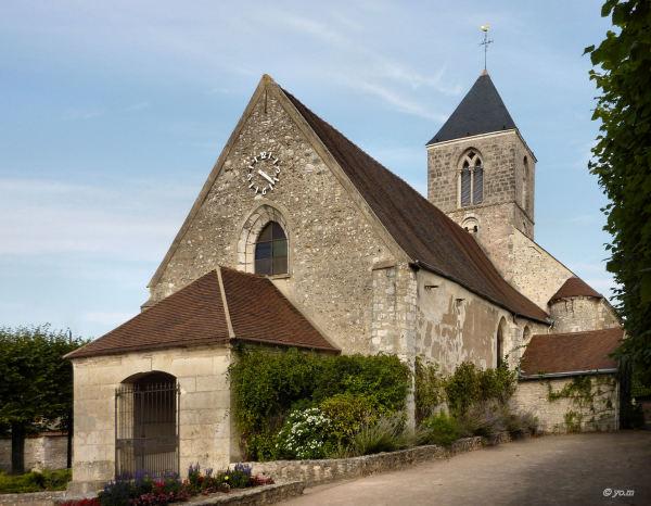 Petite église de campagne