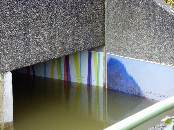Le passage inondé