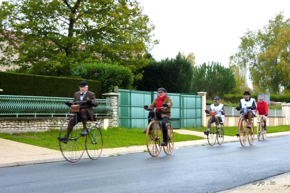 Paris-Rouen à vélocipède  # 1