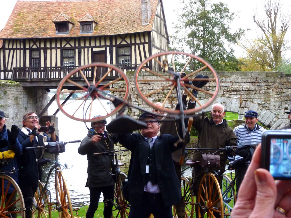 Paris-Rouen à vélocipède  # 8