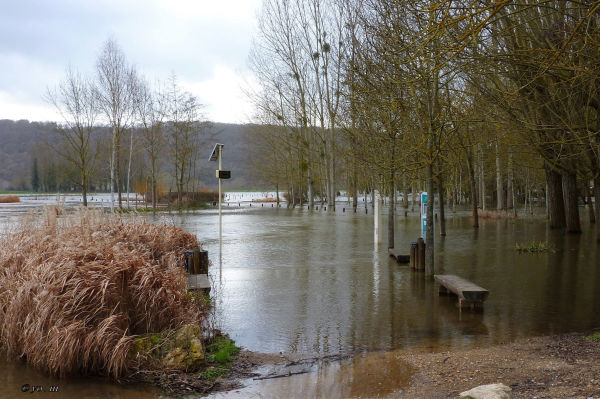 Le parking inondé  # 2