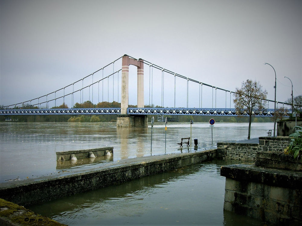 La Loire en furie