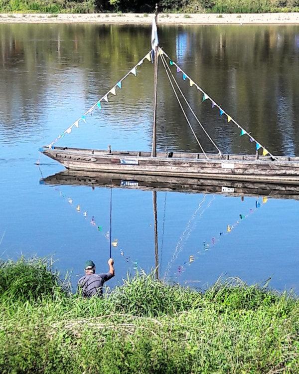 Le pêcheur de fanions