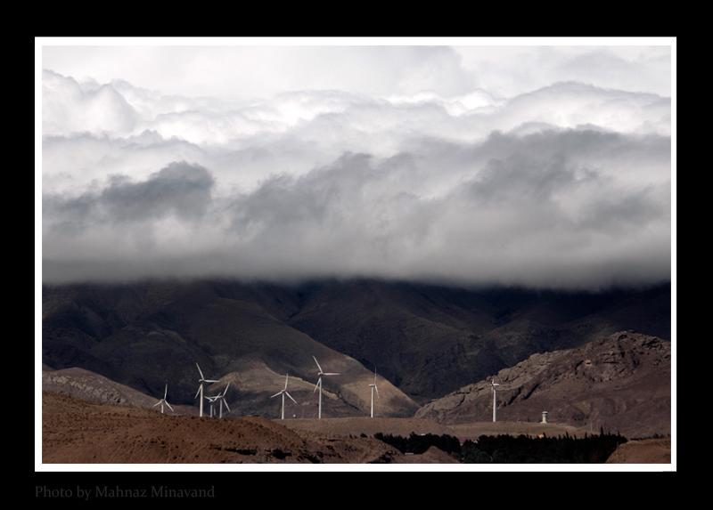 MANJIL City of Wind Turbin/منجیل وتوربین های بادی