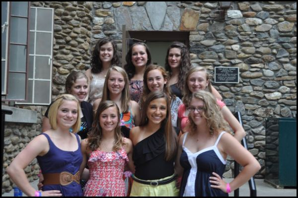 Youth Girls at Montreat