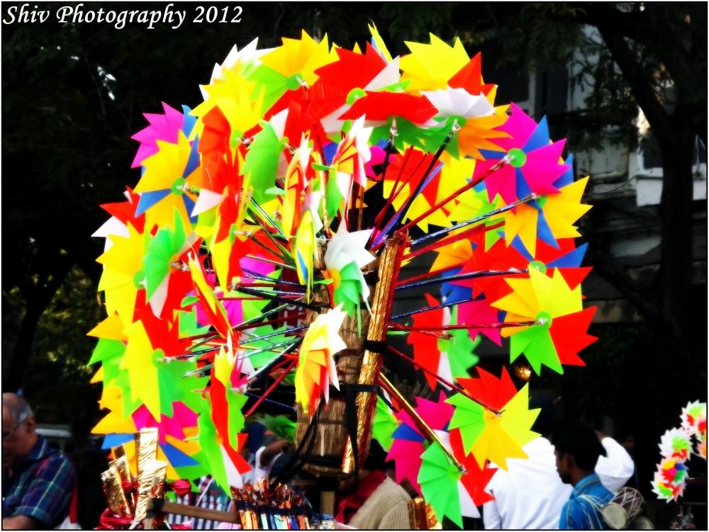 Kala Ghoda Art Festival - Colorful Pinwheels
