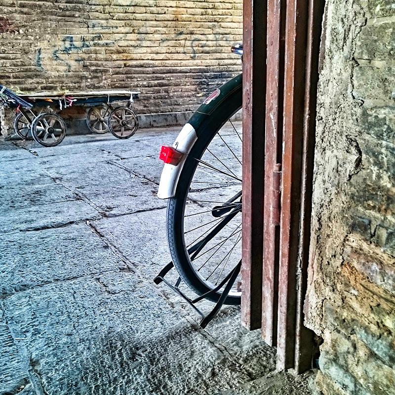 Observable Side of The Bike !