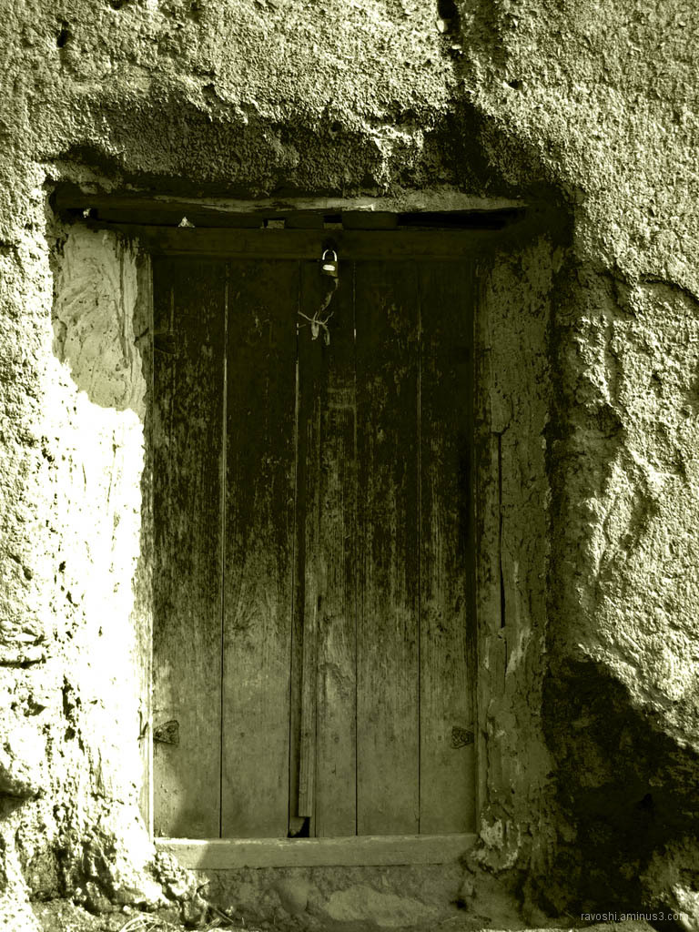 Locked, door, rural