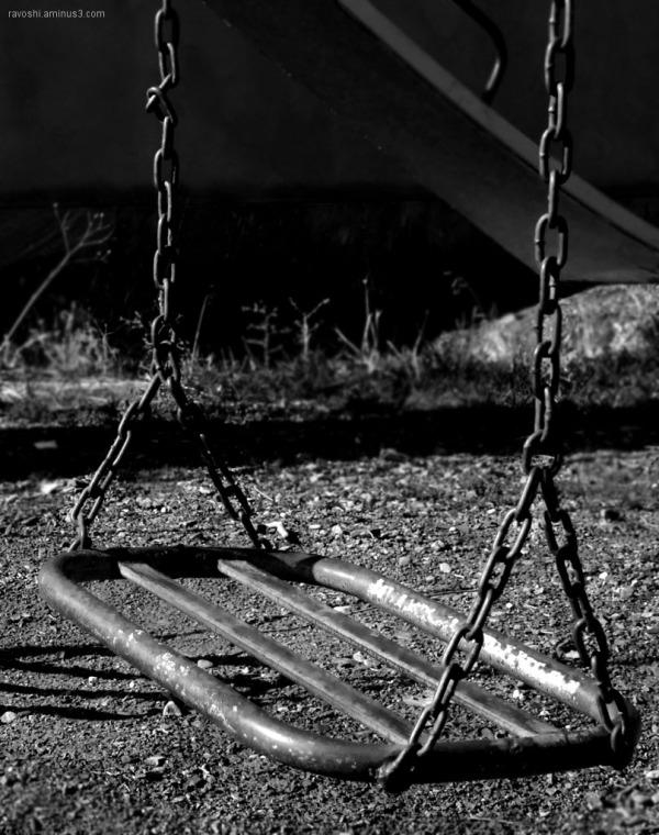swing, play, silence, park