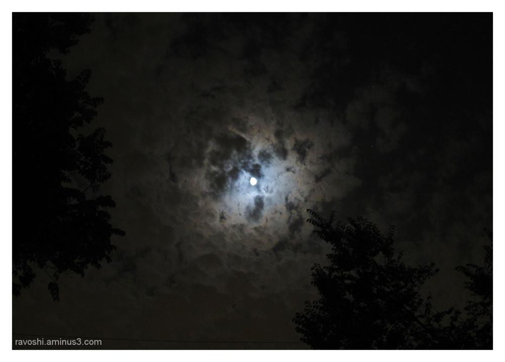 Complete Moon, dark, night