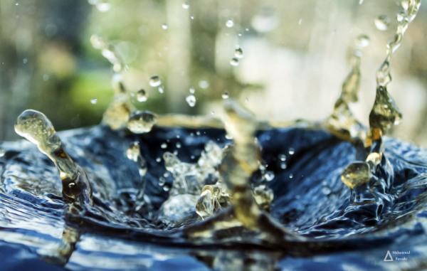freeze, droplets