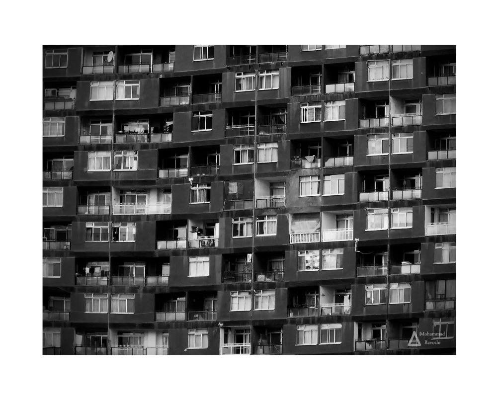 neighbor, crowd, building