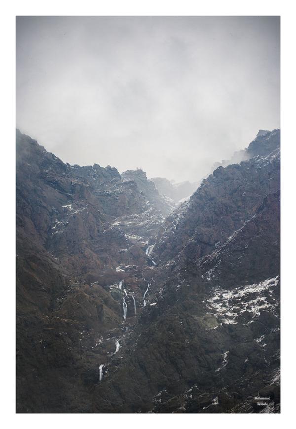 Waterfalls ,mountain