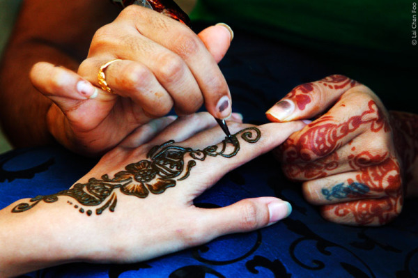 Henna - Indian hand painting