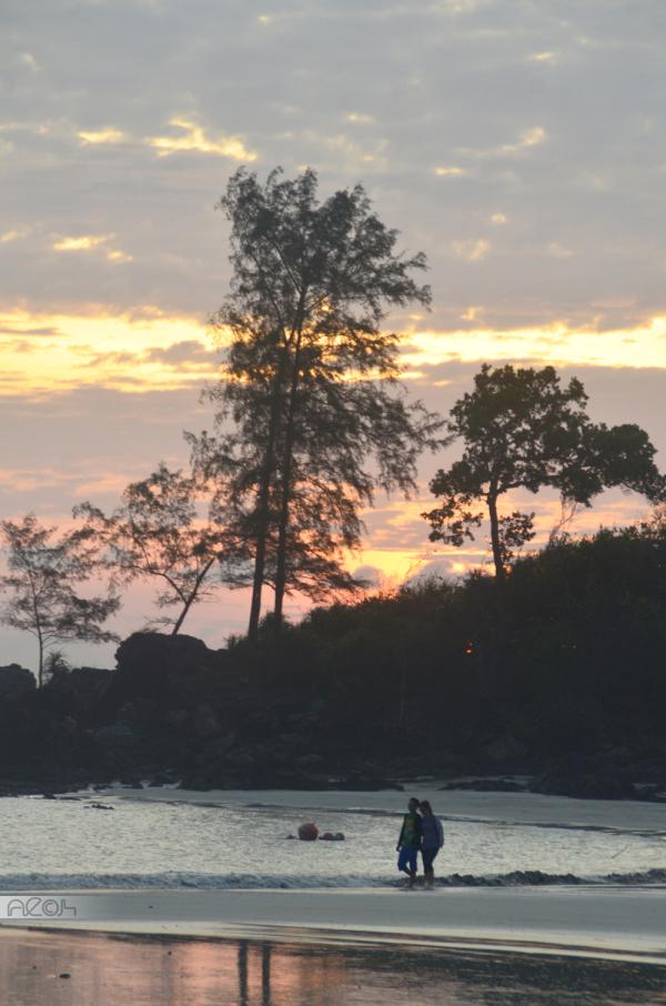 sunrise in Desaru
