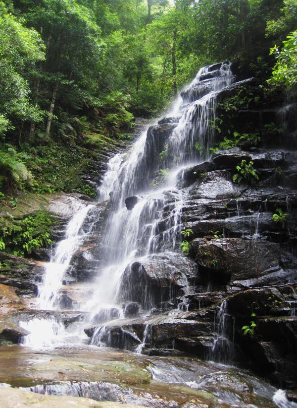Waterfall in the Blue Mounatins