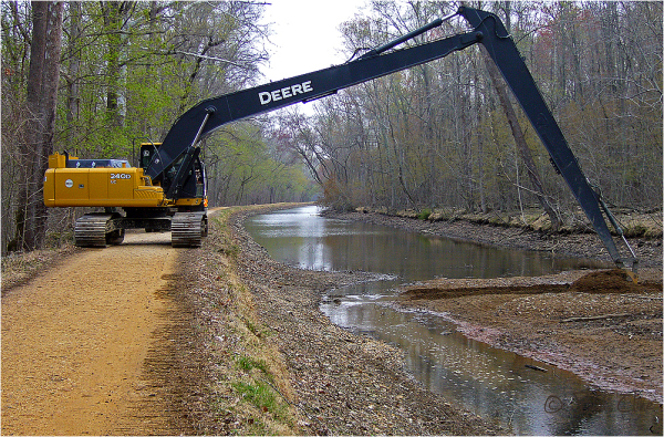 desilting the C&O Canal