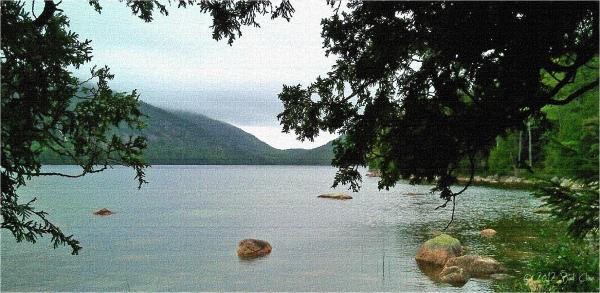 Jordon Pond in Acadia National Park