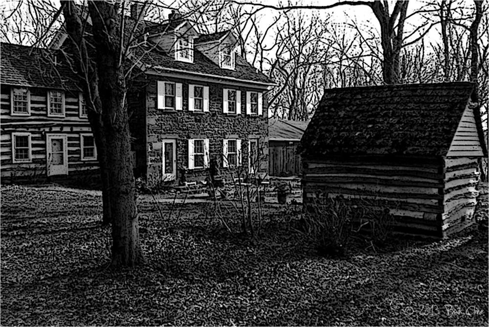 Seneca Sandstone Mill Superintendents' Houses
