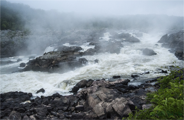 Misty Morning at Great Falls