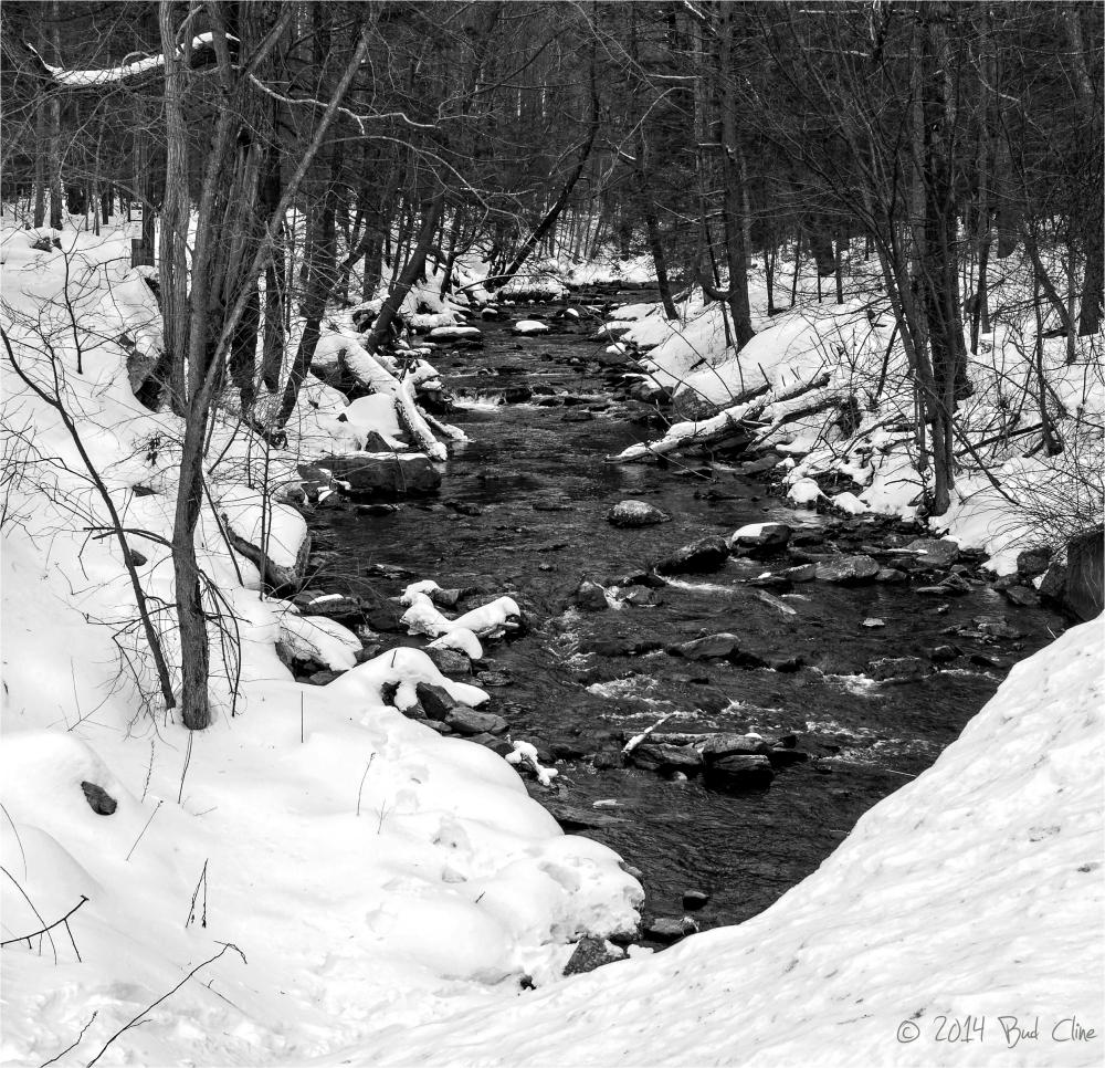 Big Hunting Creek in Winter