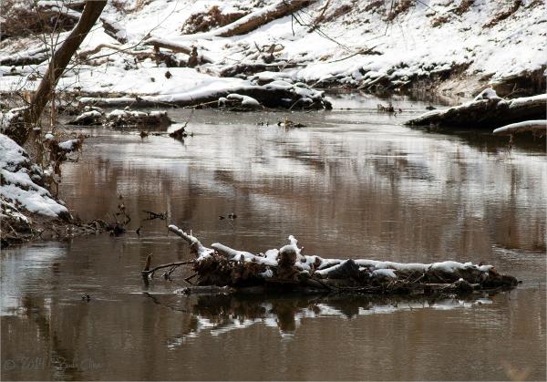 Roc Cree with snow