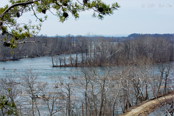 Potomac river from Blockhouse Point
