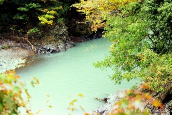 Beautiful Okutama River....