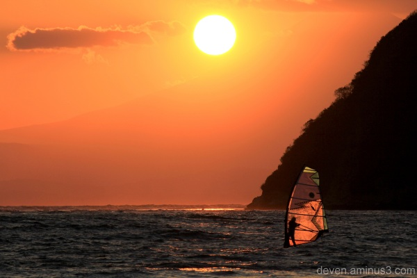 surfing on those golden waves...