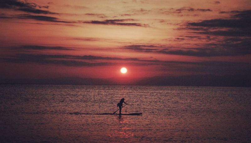 Zushi Beach Sunset