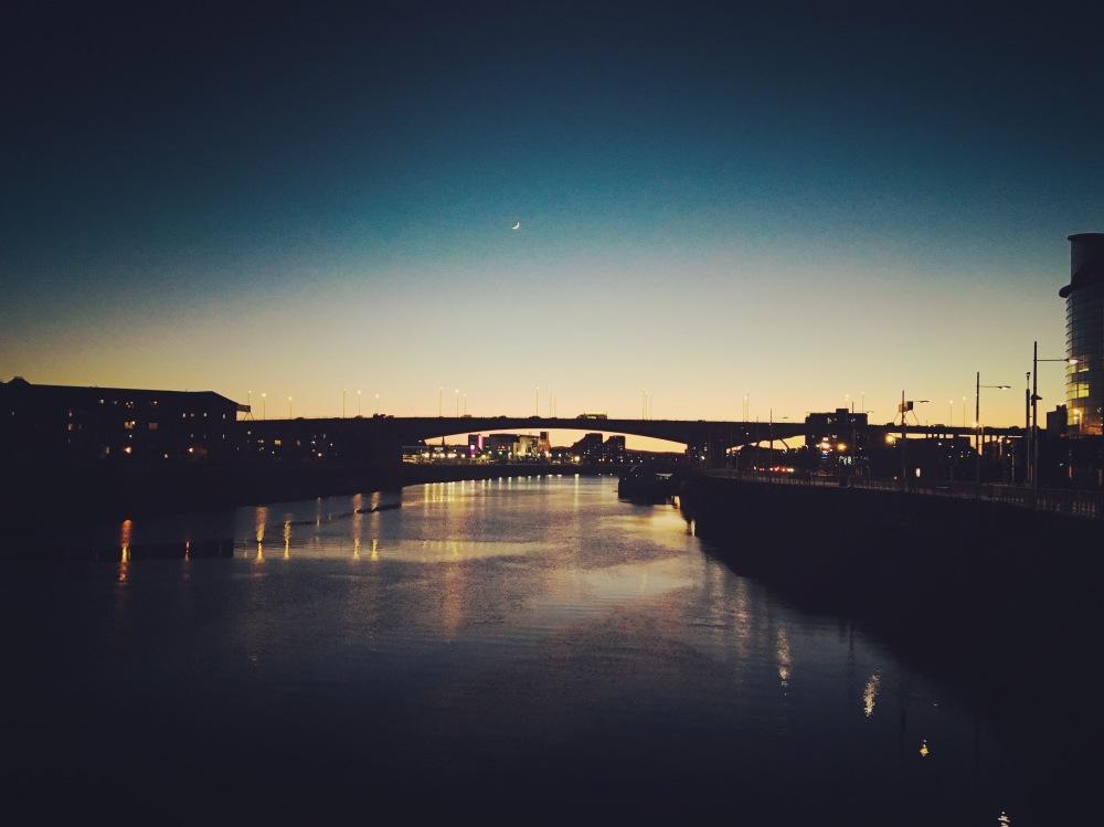 Blue light Hour...