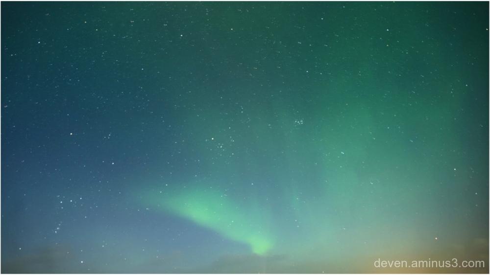 The Northern Lights, Aurora Borealis (Iceland)