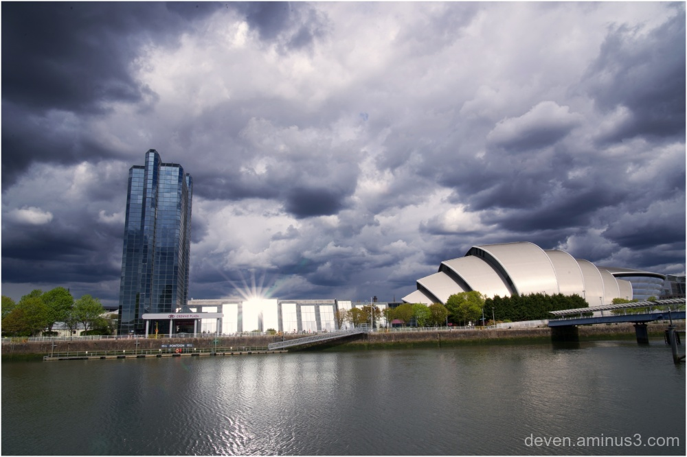 Clouds over Glasgow
