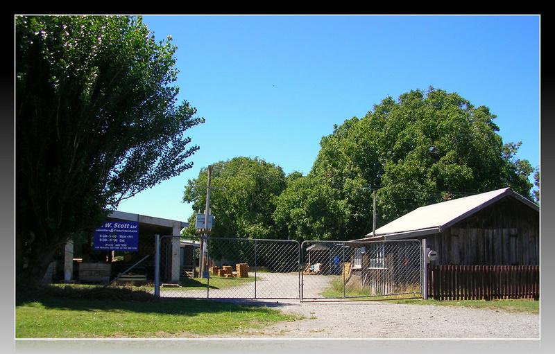 Scott's Sawmill, Rakaia, NZ
