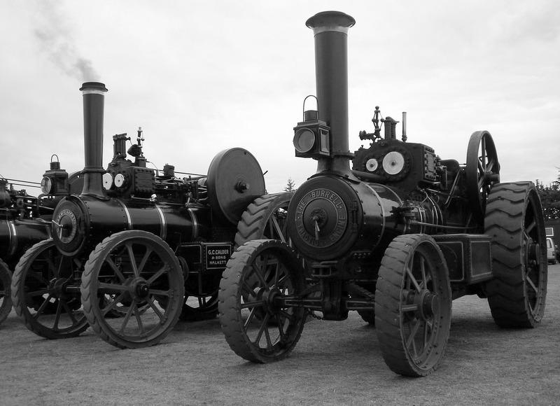 Ellesmere Vintage Machinery Rally