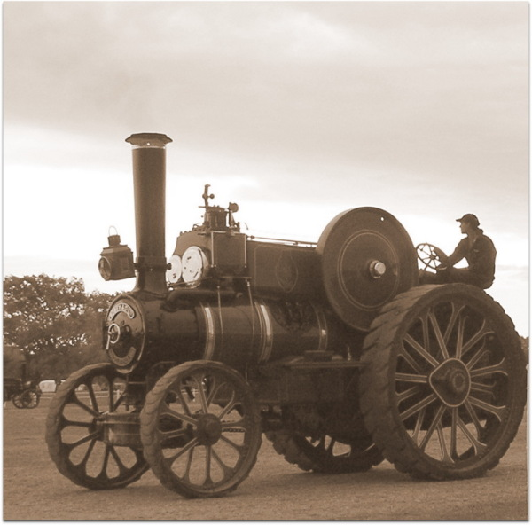 Old Traction Engine