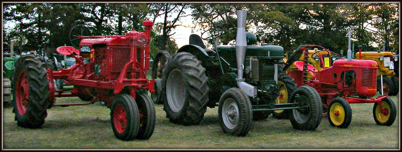 Old Tractors Looking Like New