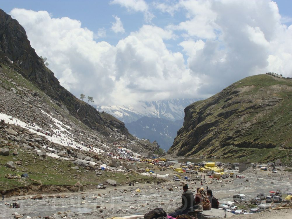 valley, manali, rotang pass, snow, heaven, India
