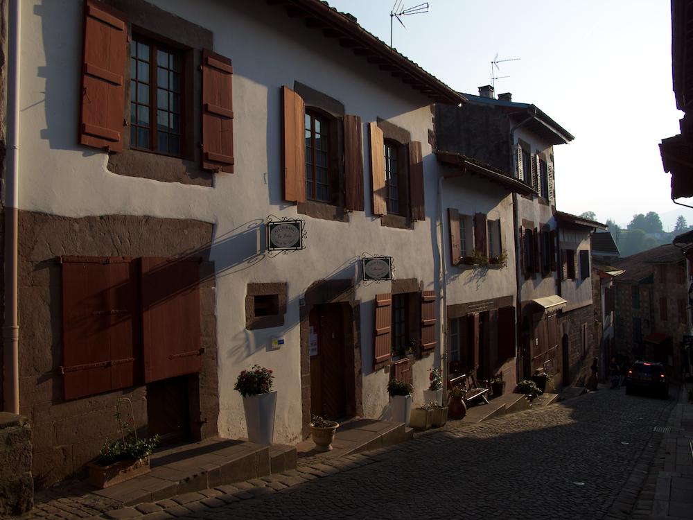 Streetscene St. Jean Pied de Port France
