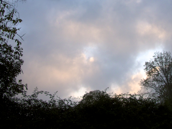 Morning sky, St. Jean Pied de Port, France