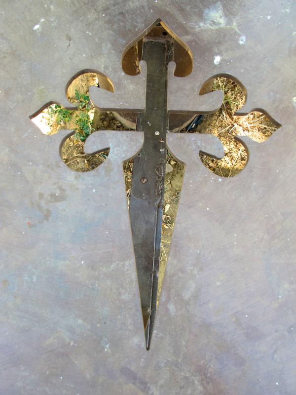 Templar cross, near Carrion Spain