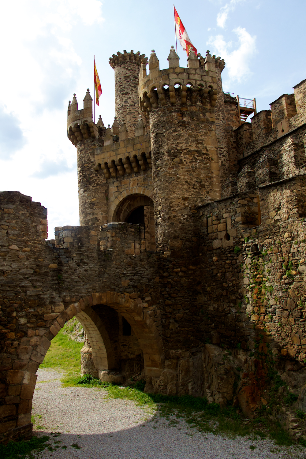 Templar Castle Ponferrada Architecture Photos Emelle