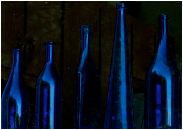 Freeman's Blue Bottles