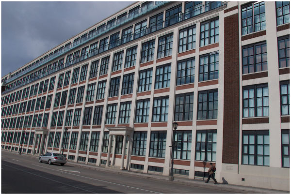 From footwear factory to Condos
