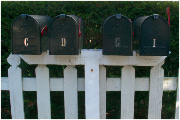 Someone's got mail